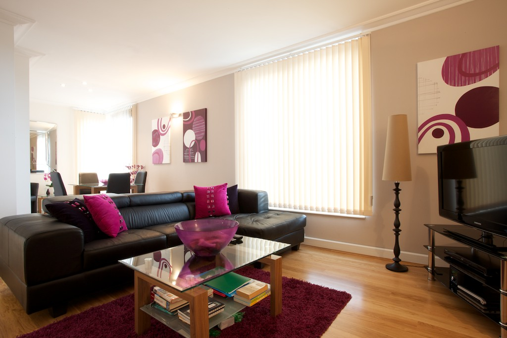 High Quality South Kensington Serviced Apartments, Central London SW7 Watling2 Lounge